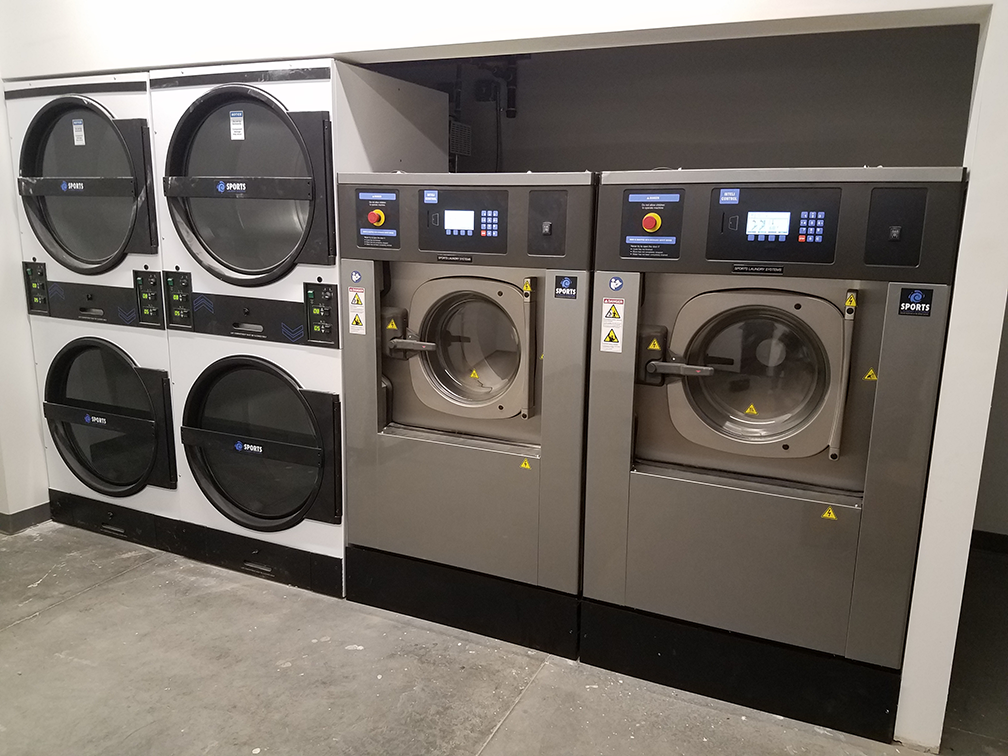 Sports Laundry Systems Install